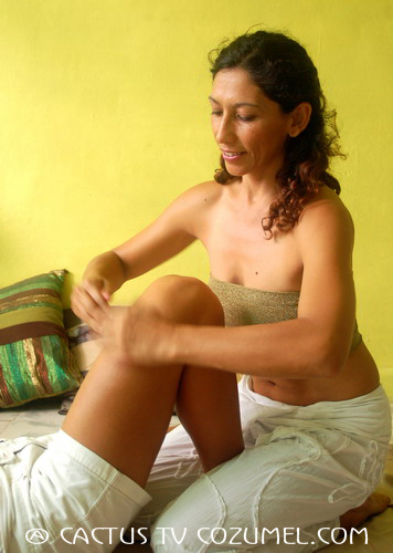 Thai-massage legs