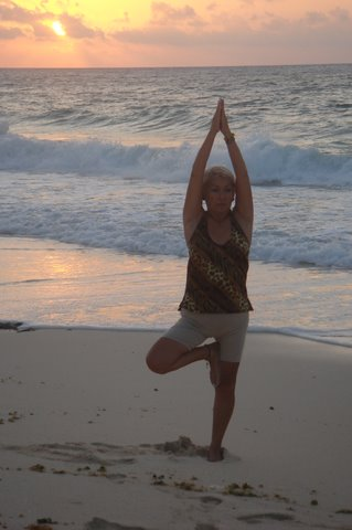 Yoga at Sea