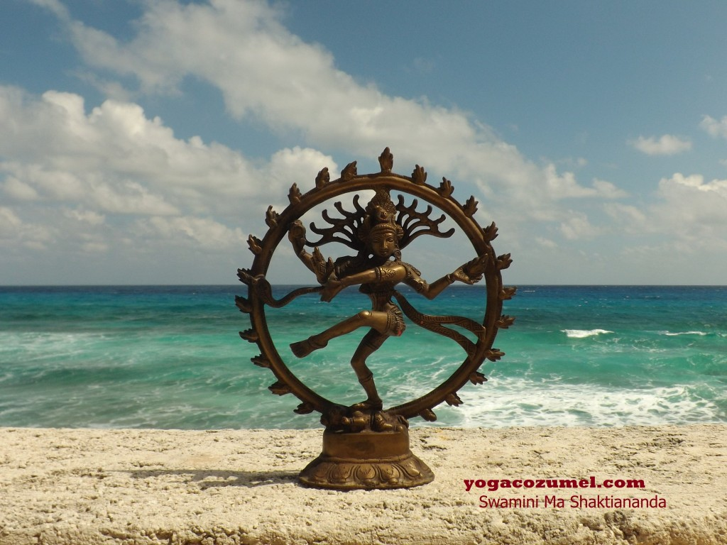 SHIVA NATARAJ/ Come and practice yoga or make your yoga teacher training with Swamini Ma Shaktiananda in the Mexican Caribbean-Cozumel island ! www.yogacozumel.com /