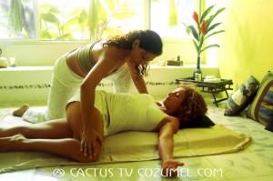 Excelente masaje para ATLETAS DE TRIATLON ( IRON MAN)