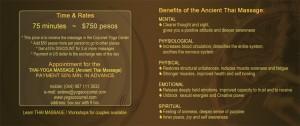Benefits of the Thai-yoga massage