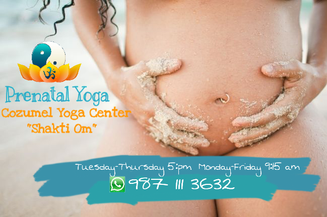 PRENATAL YOGA  IN COZUMEL. Monday & Fridays 9:15 pm  / 4 goddes maximum, personalize service s maximum,. / Other schedule Tuesday and thursday 5:00 pm  most call before to recerve your place./ Pregnancy Massage / Private Prenatal yoga / whtasapp: +52 1 9871113632 yogacozumel@gmail.com