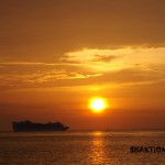 SUNSET YOGA BY THE SEA in COZUMEL MEXICO, /  photo by: Swamini Ma Shaktiananda