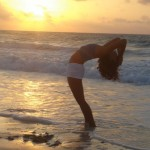 SUNSET YOGA BY THE SEA in COZUMEL MEXICO