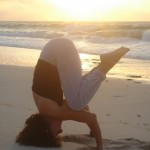 SUNSET YOGA BY THE SEA in COZUMEL MEXICO/ photo by: Swamini Ma Shaktiananda