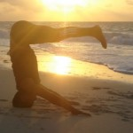 SUNSET YOGA BY THE SEA in COZUMEL MEXICO/ photo by: Sw. Ma Shaktiananda